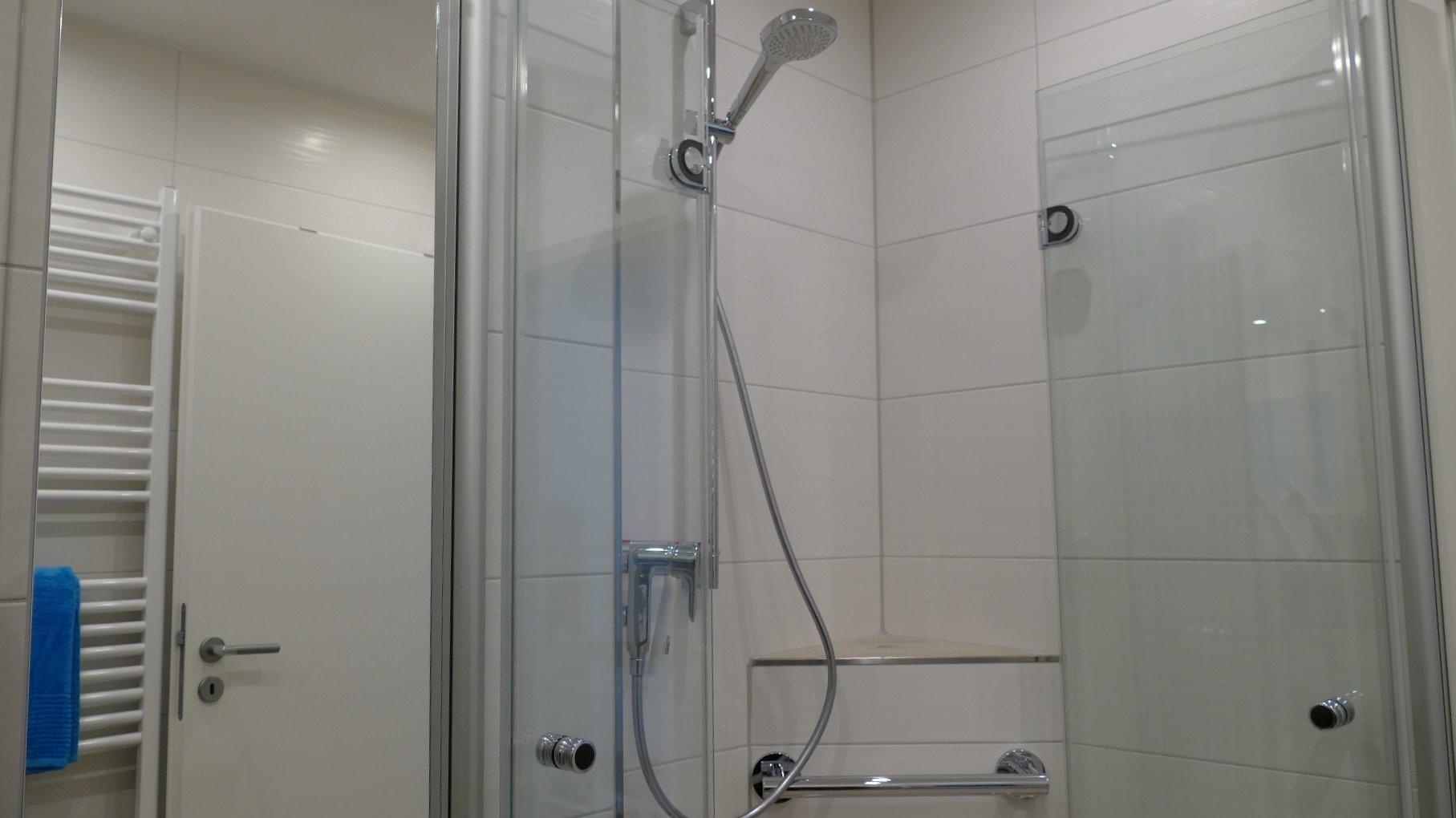 Dusche Ferienwohnung