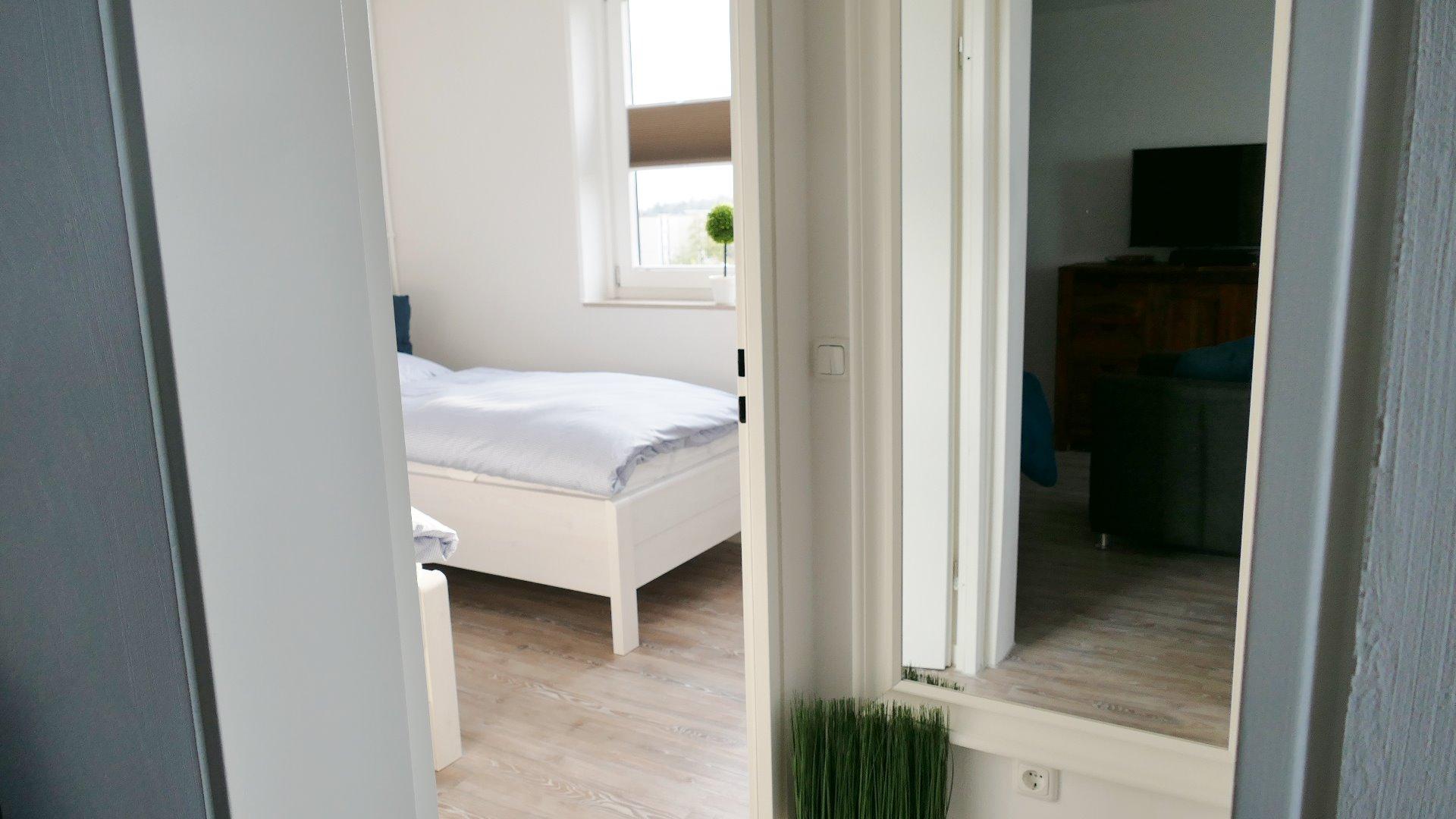 Ferienwohnung Schlafzimmer Ostsee Damp