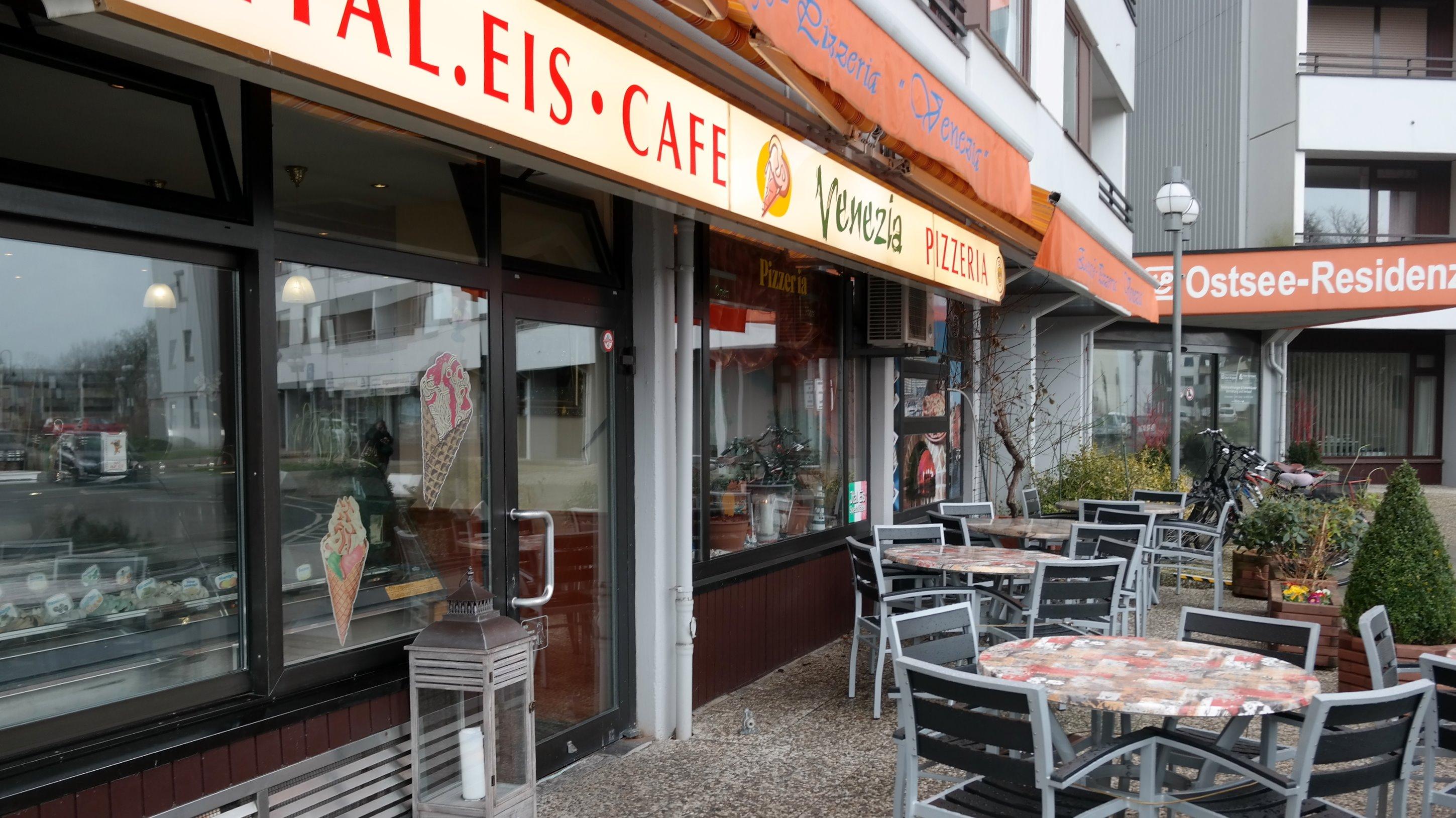 Eiscafe Ferienwohnung in Damp