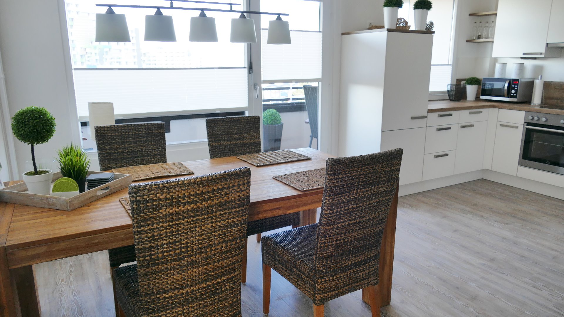 Wohnküche Ferienwohnung Damp Ostsee