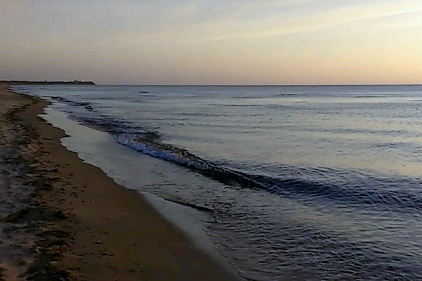 Strand an der Ostsee in Damp